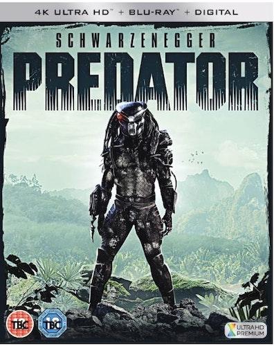 Predator 4K Ultra HD Bluray 1987