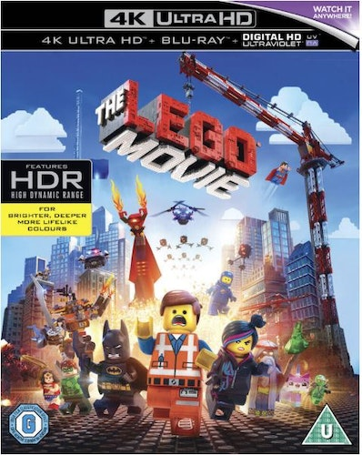 The Lego Movie 4K Ultra HD