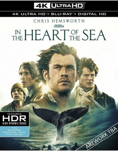 In The Heart Of The Sea 4K Ultra HD (import)