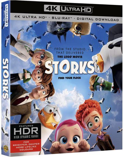 Storkarna 4K Ultra HD