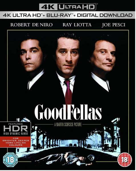 GoodFellas/Maffiabröder 4K Ultra HD