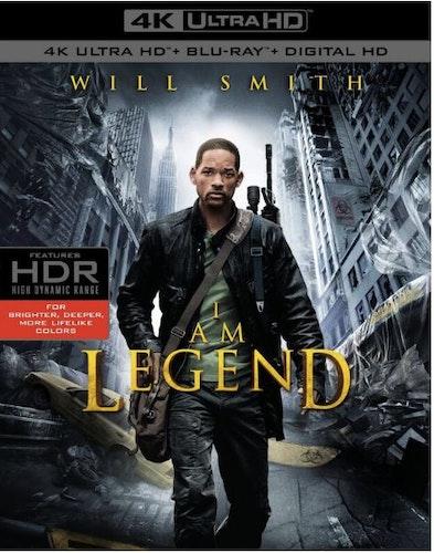 I Am Legend 4K Ultra HD (import med svensk text)