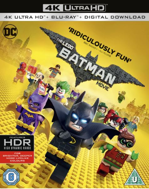 The Lego Batman Movie 4K Ultra HD