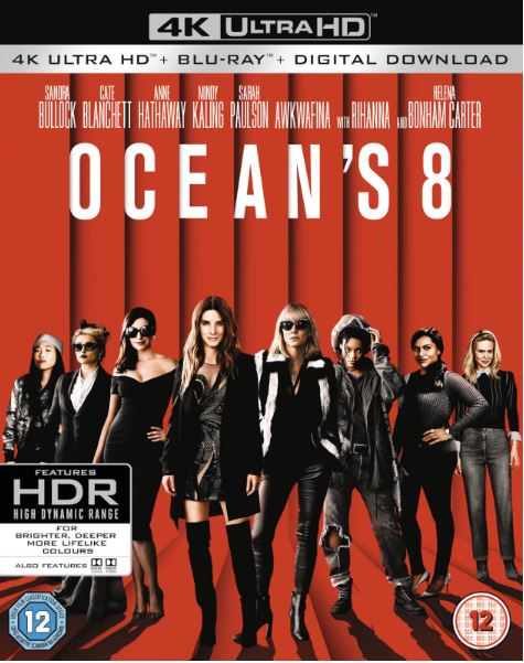 Ocean's 8 Eight 4K Ultra HD