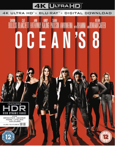 Ocean's 8 Eight 4K Ultra HD