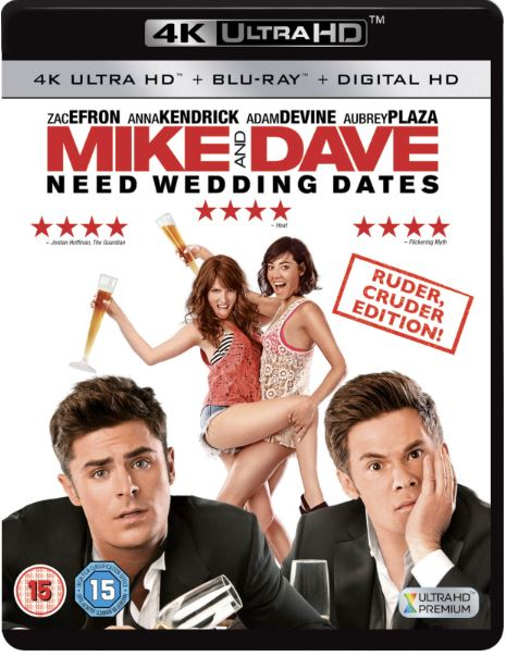 Mike & Dave Need Wedding Dates 4K Ultra HD