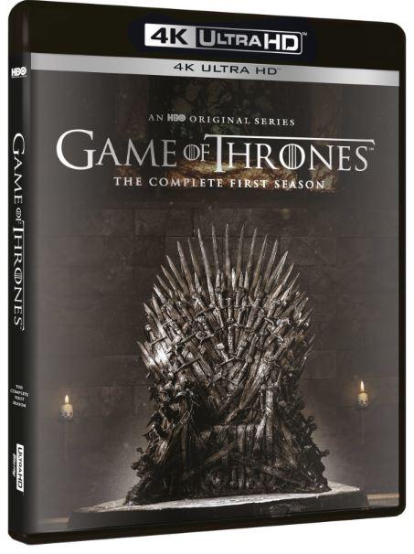Game Of Thrones säsong 1 4K Ultra HD (import med svensk text)