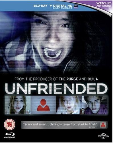Unfriended bluray import Sv text