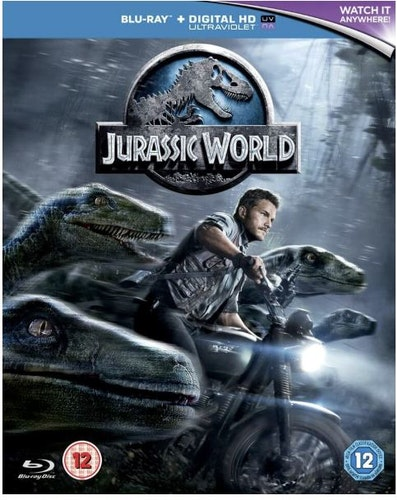 Jurassic World bluray (import med svensk text)