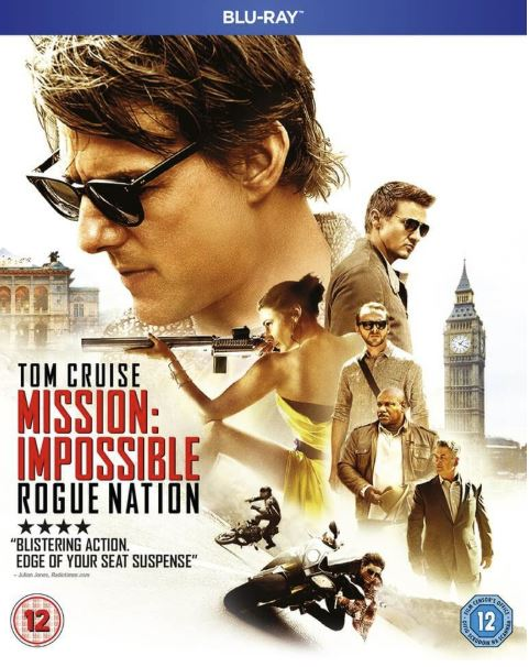 Mission Impossible 5 - Rogue Nation bluray