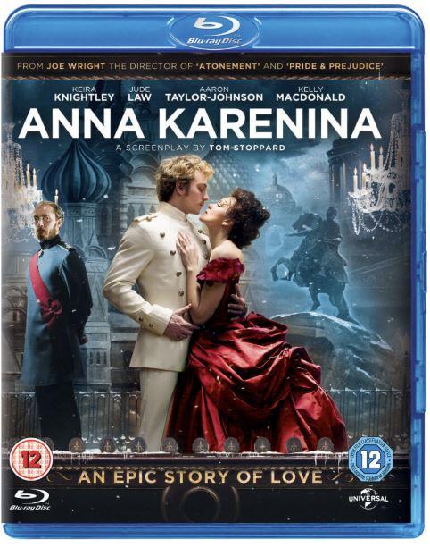 Anna Karenina bluray