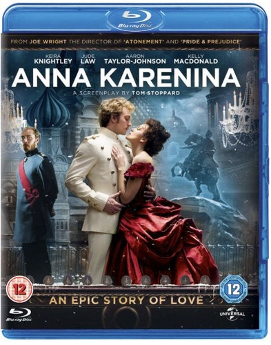 Anna Karenina bluray