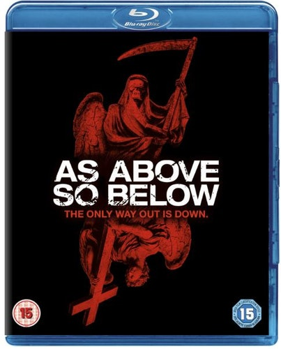 As Above So Below bluray import Sv text