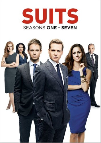 Suits Säsong 1-7 DVD