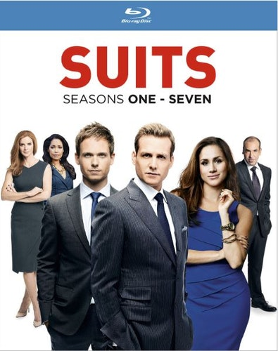 Suits 1-7 bluray