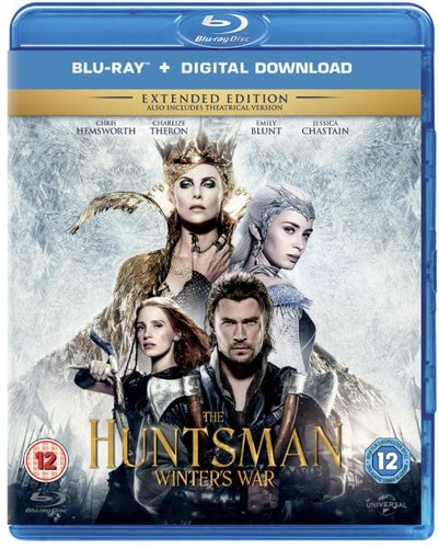 The Huntsman - Winters War bluray