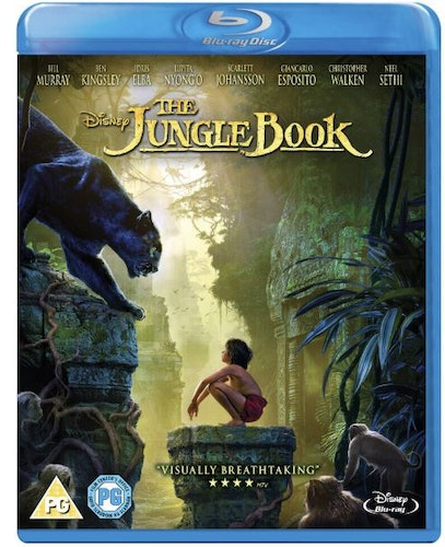 The Jungle Book bluray 2016