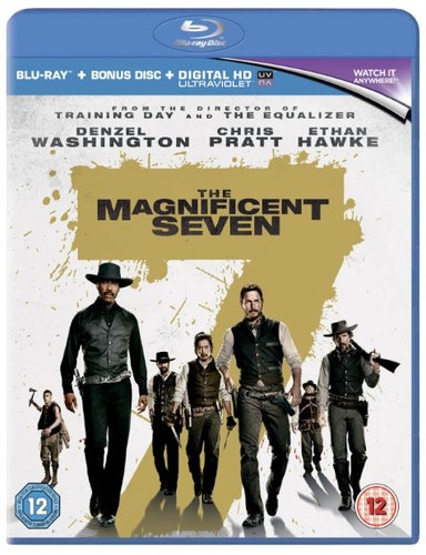 The Magnificent Seven bluray import