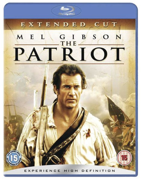 The Patriot - Extended Cut bluray (import)