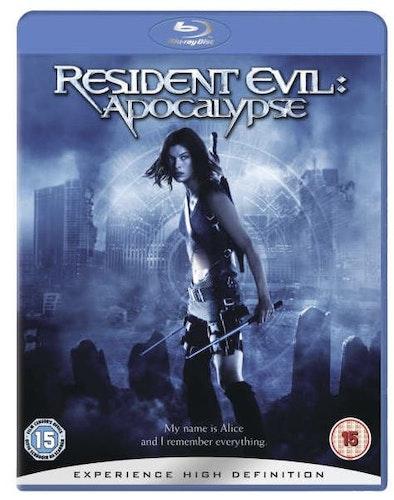 Resident Evil - Apocalypse bluray (import Sv text)