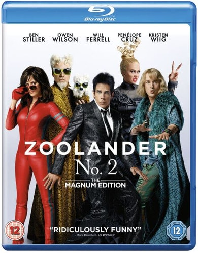 Zoolander 2 bluray (import med svensk text)