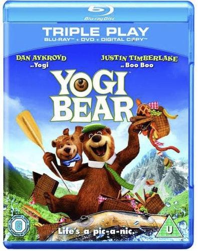 Yogi Bear/björn  bluray (import med svenskt tal+text)