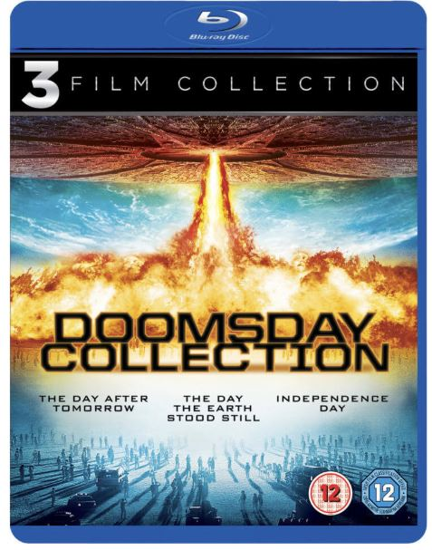 The Day After Tomorrow + The Day The Earth Stood Still + Independence Day bluray import