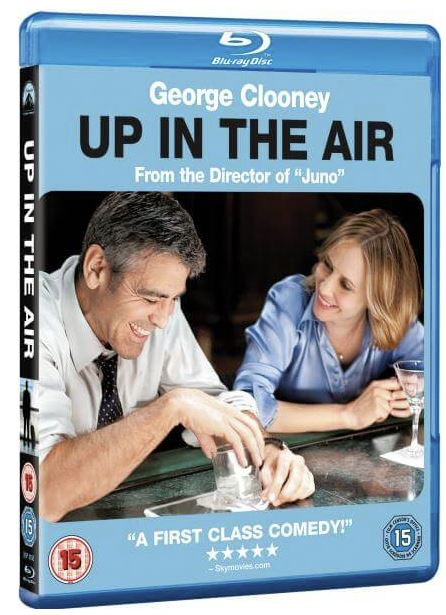 Up In The Air bluray (import med svensk text)