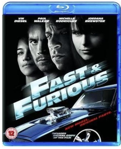 Fast & Furious 4 - Fast And Furious bluray