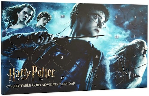 Harry Potter Limited Edition Collectable Coin Advent Calendar