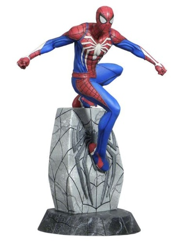 Diamond Select Marvel Gallery Spider-man PS4 PVC Figure