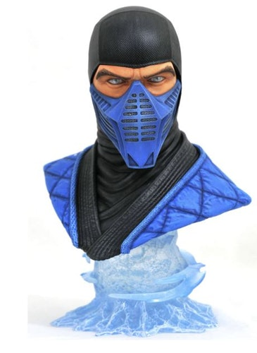 Diamond Select Mortal Kombat 11 Legends In 3d Sub Zero 1/2 Scale Bust