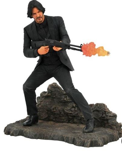 Diamond Select John Wick Gallery Catacombs PVC Statue