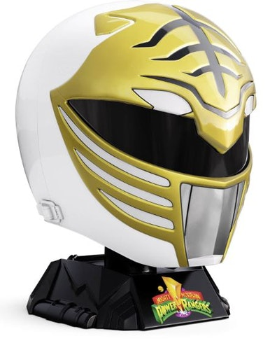 Hasbro Power Rangers Lightning Collection Mighty Morphin White Ranger Helmet 1:1 Replica