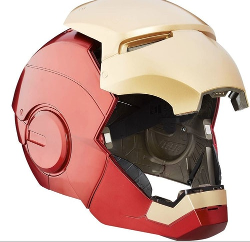 The Avengers Marvel Legends Iron Man Electronic Helmet (Full-Scale Size)