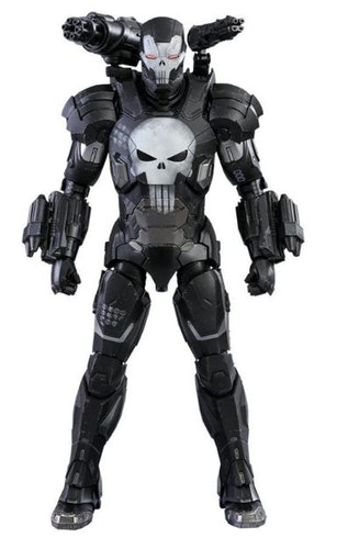 Hot Toys Marvel Future Fight Video Game Masterpiece Action Figure 1/6 The Punisher War Machine Armor 32 cm