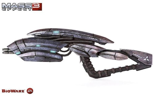"Mass Effect 3 Geth Pulse Rifle 33"""" Long"