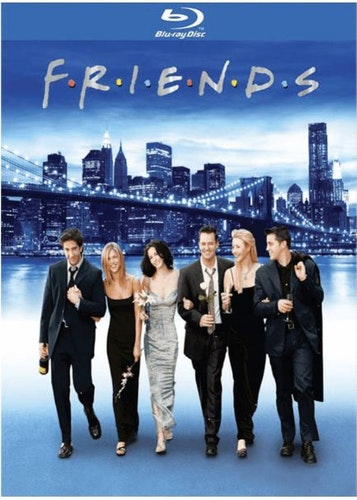 Vänner/Friends Säsong 1-10 Complete Collection bluray