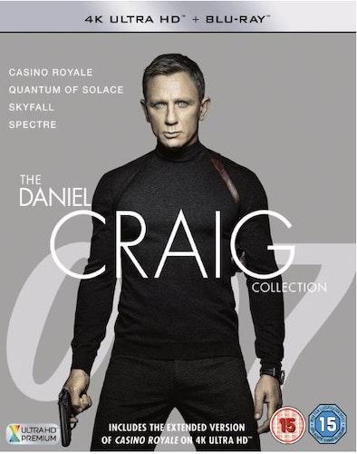 James Bond - The Daniel Craig Collection 4K Ultra HD + Bluray