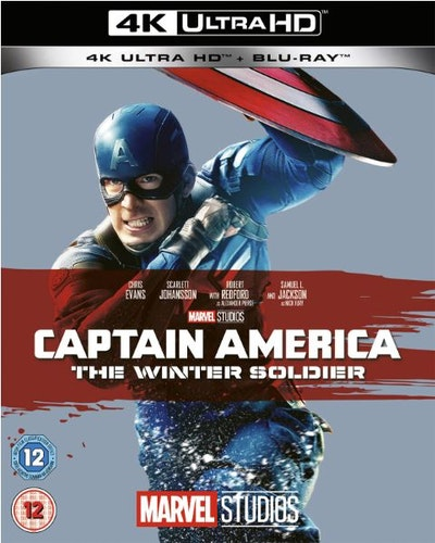 Captain America Winter Soldier 4K Ultra HD + Bluray