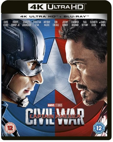 Captain America 3 - Civil War 4K Ultra HD + Bluray