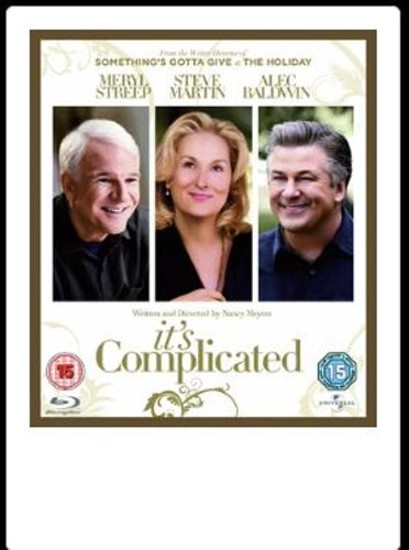 Its Complicated (import med svensk text) bluray