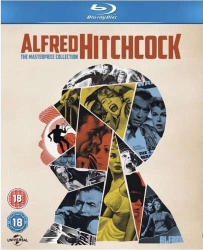Alfred Hitchcock - The Masterpiece Collection (14 Films) bluray import Sv text
