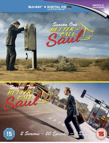 Better Call Saul säsong 1+2 bluray