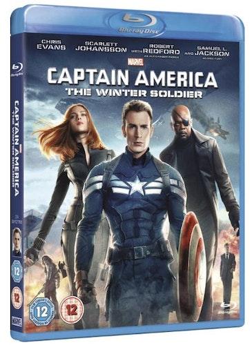 Captain America - The Winter Soldier bluray