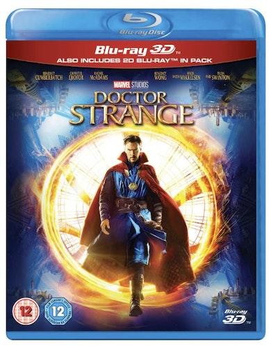 Doctor Strange 3D+2D (import) bluray