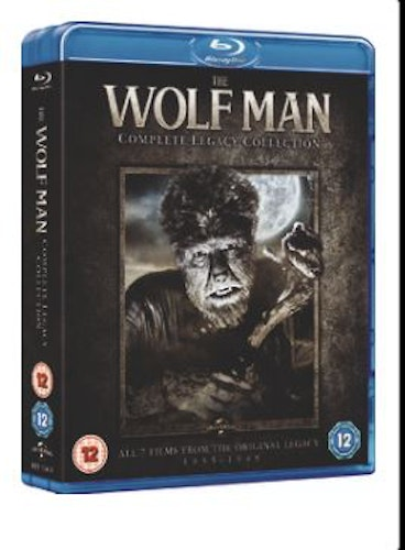 The Wolf Man Complete Legacy Collection (7 Films) bluray (import Sv text)