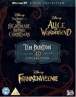 Tim Burton - The Nightmare Before Christmas 3D + Alice In Wonderland 3D + Frankenweenie 3D