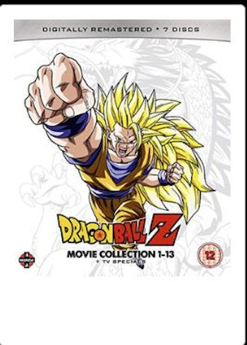 Dragon Ball Z Movie Complete Collection - Movies 1 to 13 + TV Specials (import)
