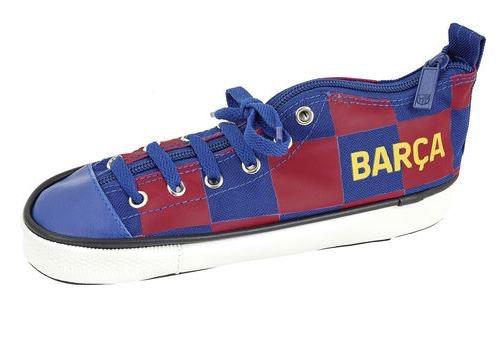 F.C Barcelona pennskrin i form av en sko